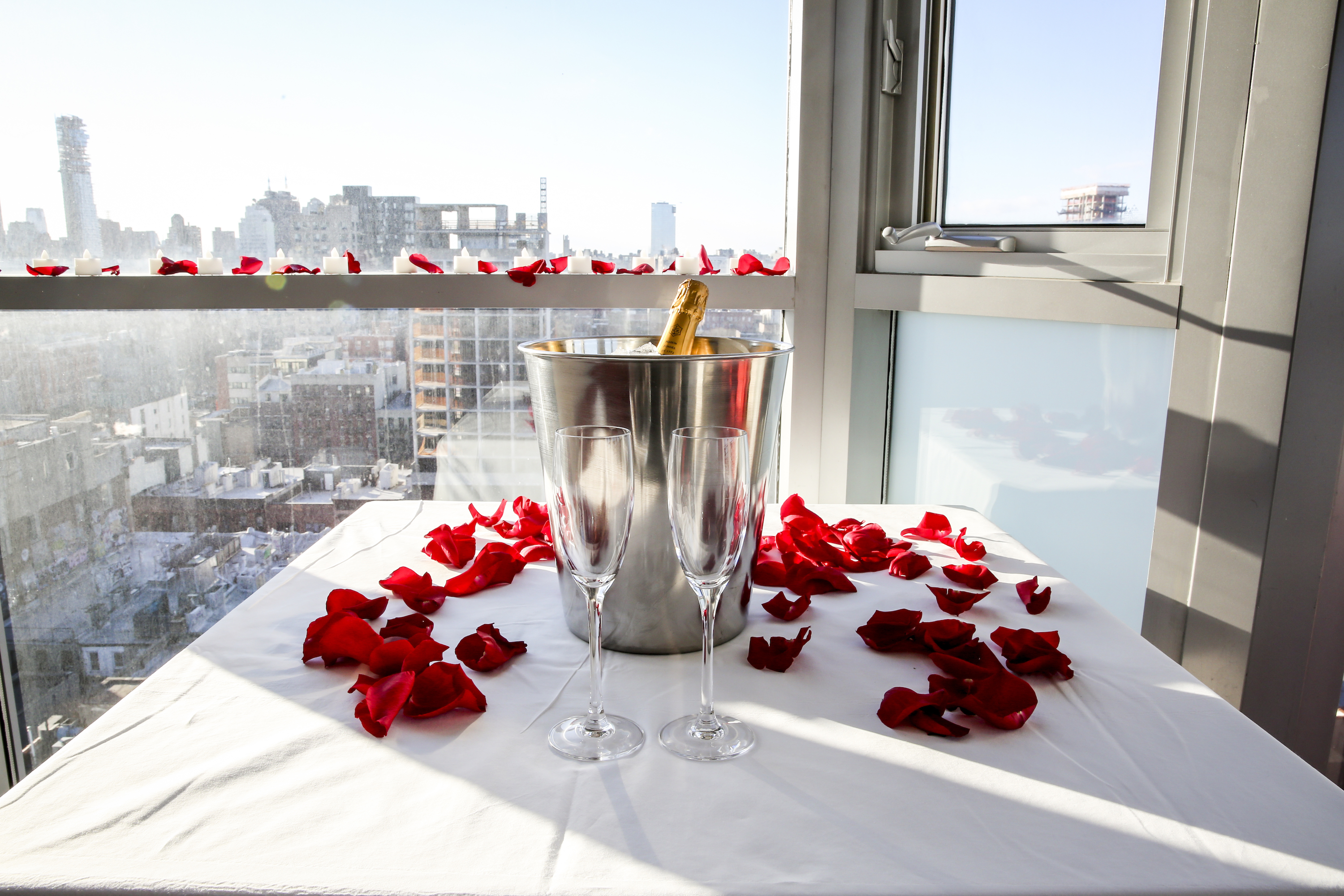 Hotel Room Marriage Proposal