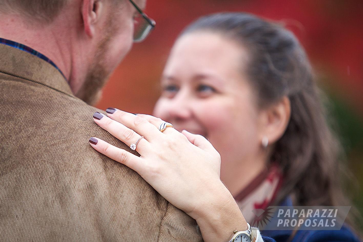 Boston Gardens Marriage Proposal