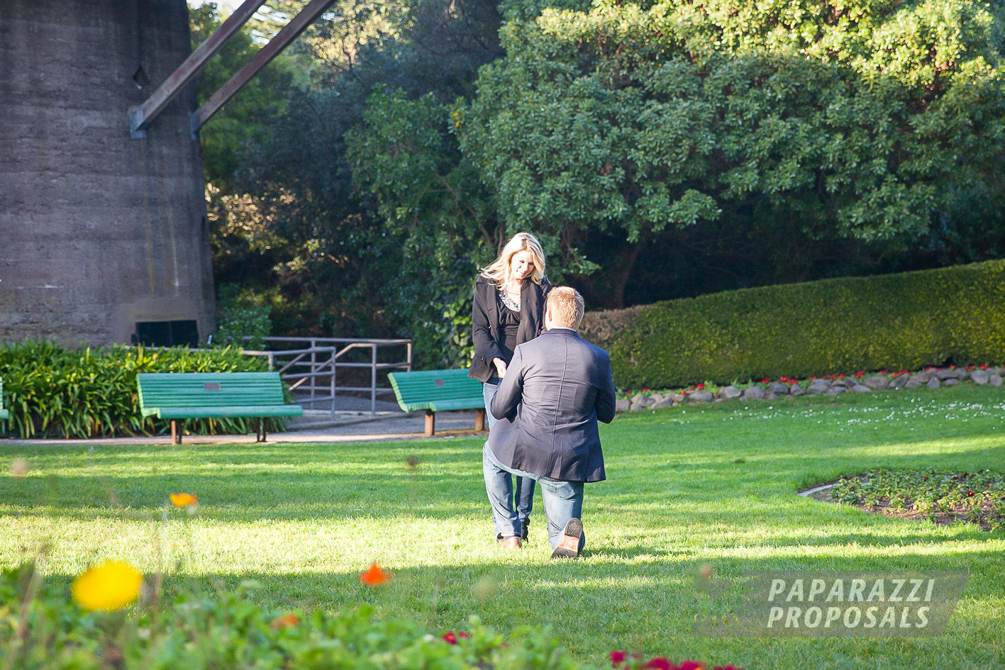 San Francisco Proposal Photography Jack Margie Kay