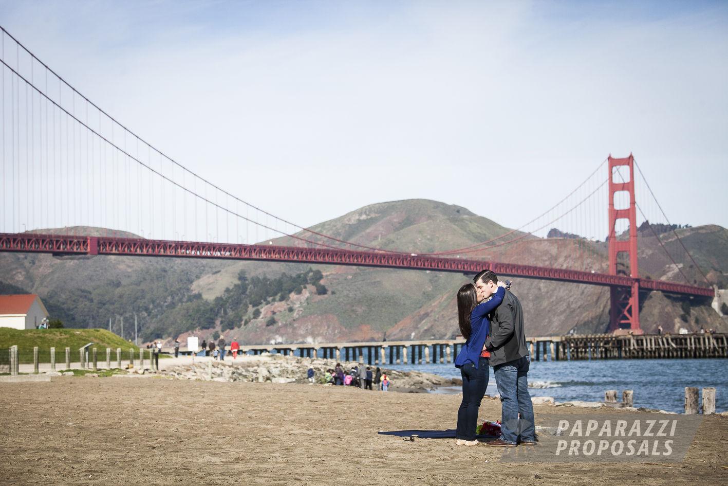 Justin And Lauren S Golden Gate Bridge Proposal