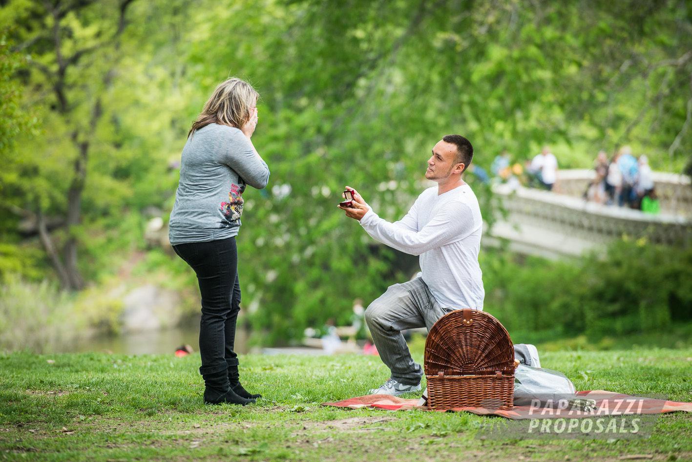Daniel And Amanda S Fun Central Park Proposal Nyc