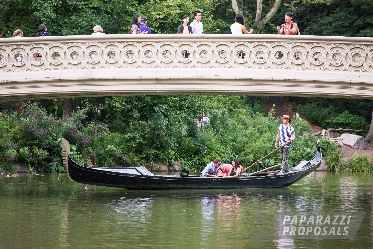 James And Anne Marie S Central Park Gondola Proposal New York Paparazzi Proposals