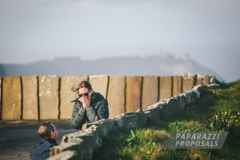Joe And Liz S Spectacular Proposal In Ireland Paparazzi