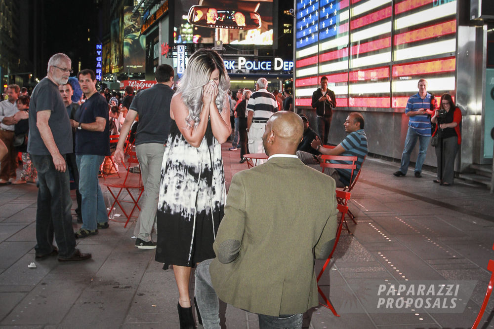New York City Proposal Ideas Times Square