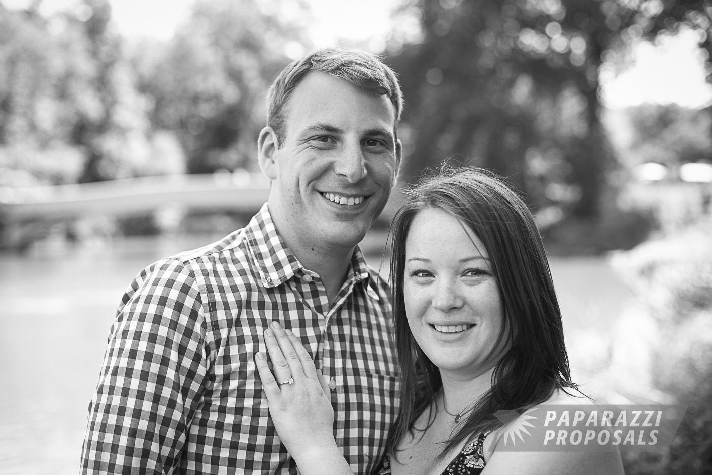 Nick And Elizabeths Bow Bridge Paparazzi Proposal In