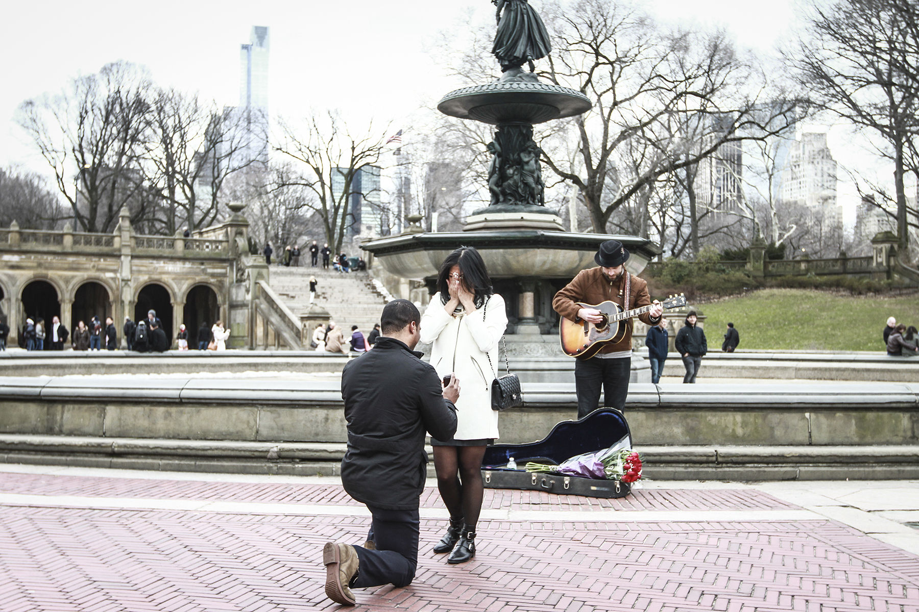 romantic proposal ideas new york city