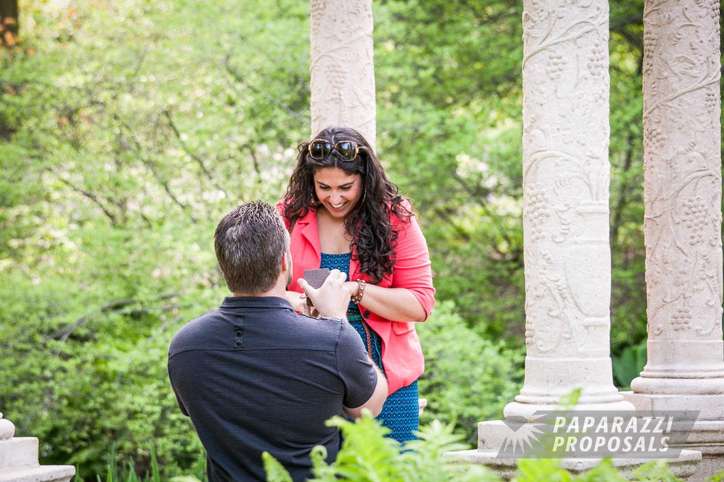 Philadelphia Longwood Gardens Marriage Proposal