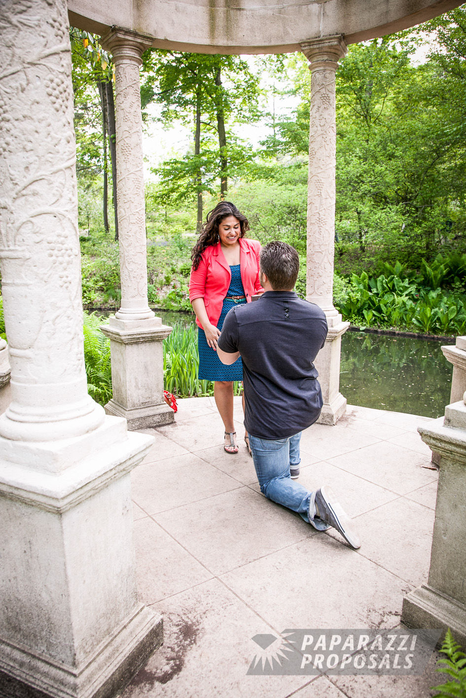 Tim And Alessia S Longwood Gardens Proposal Pa