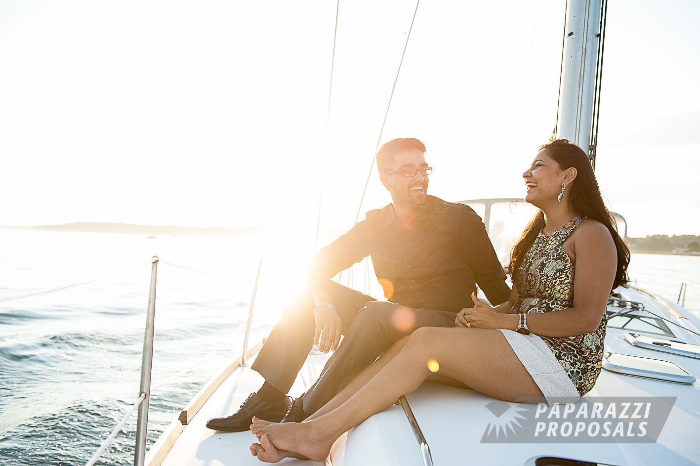 Sailboat Marriage Proposal