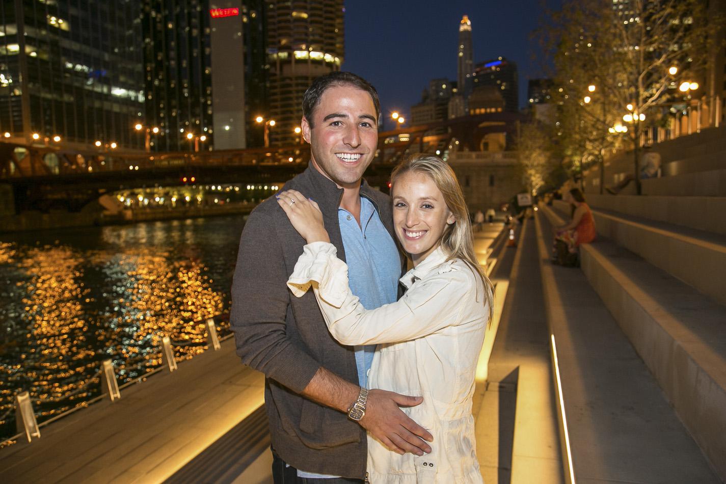 Chicago Surprise Engagement Photography Dan - 20