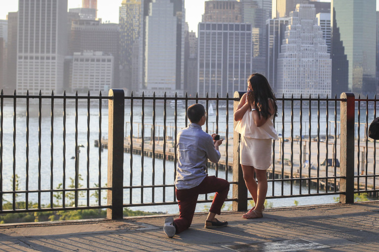 Where To Propose Nyc Paparazzi Proposals