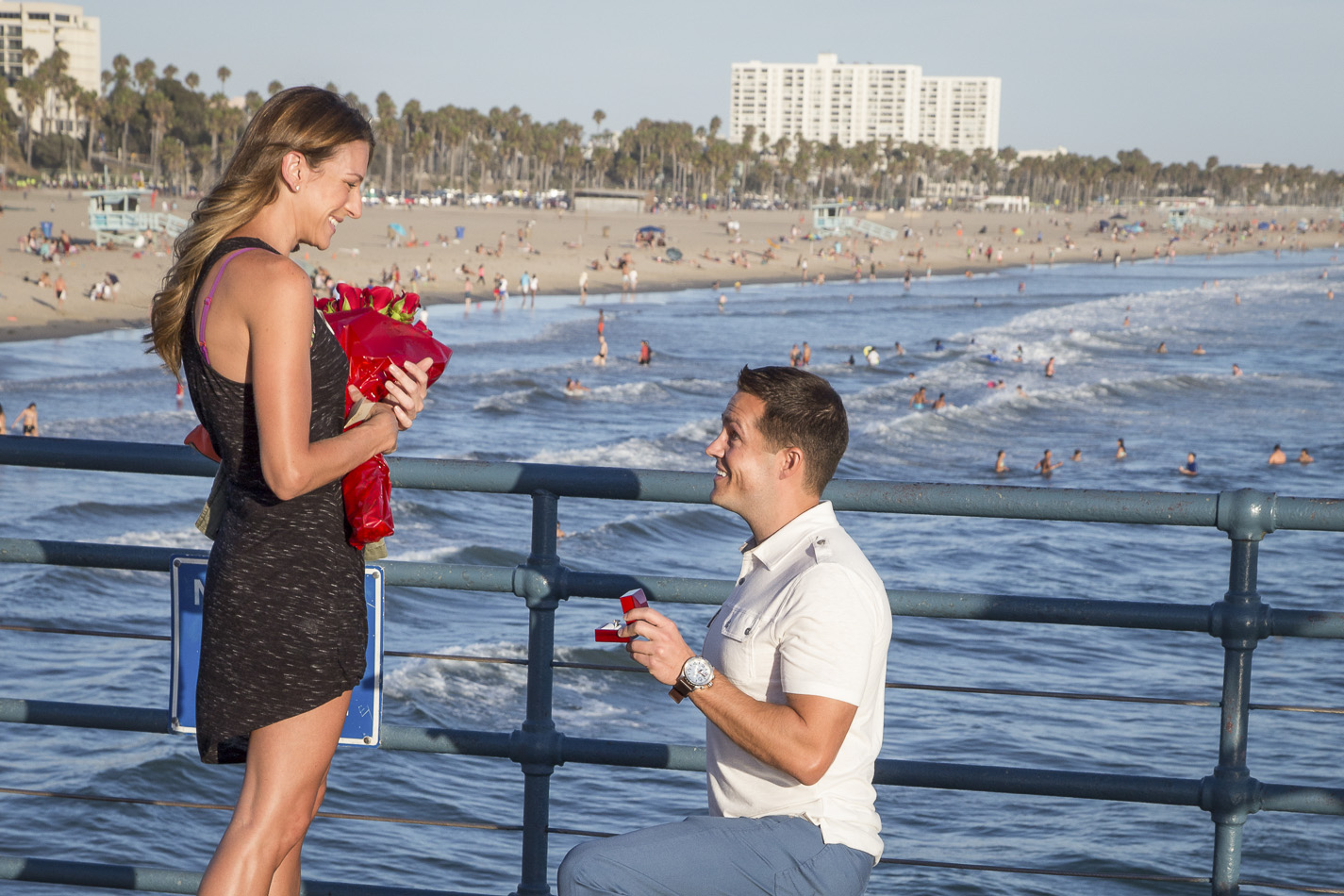 Santa Monica Engagement photography Nathan - 4