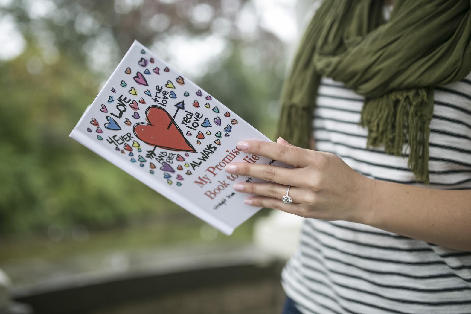 LoveBook marriage proposal