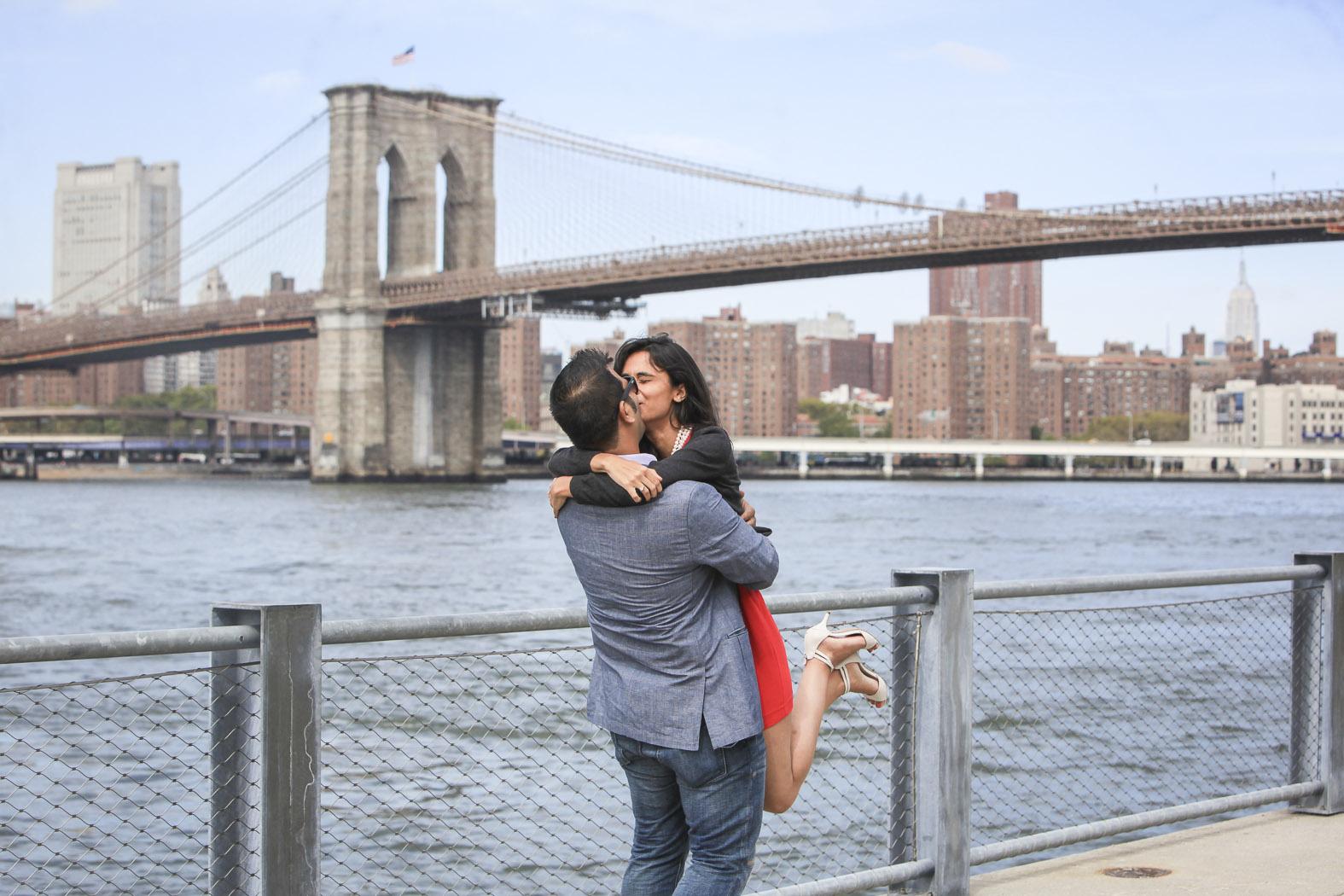 New York City Marriage Proposal Mukul - 6