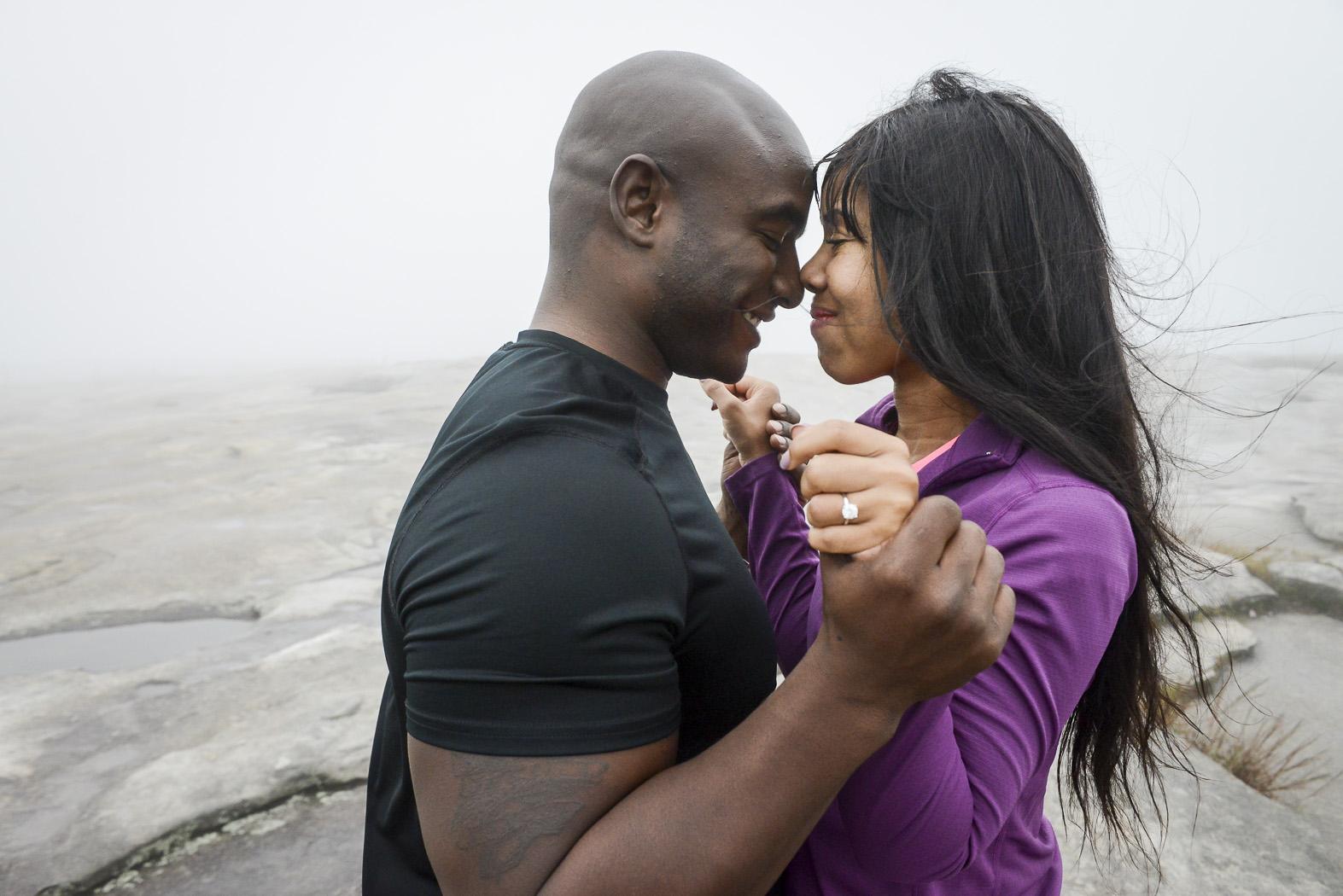 Stone Mountain Marriage Proposal