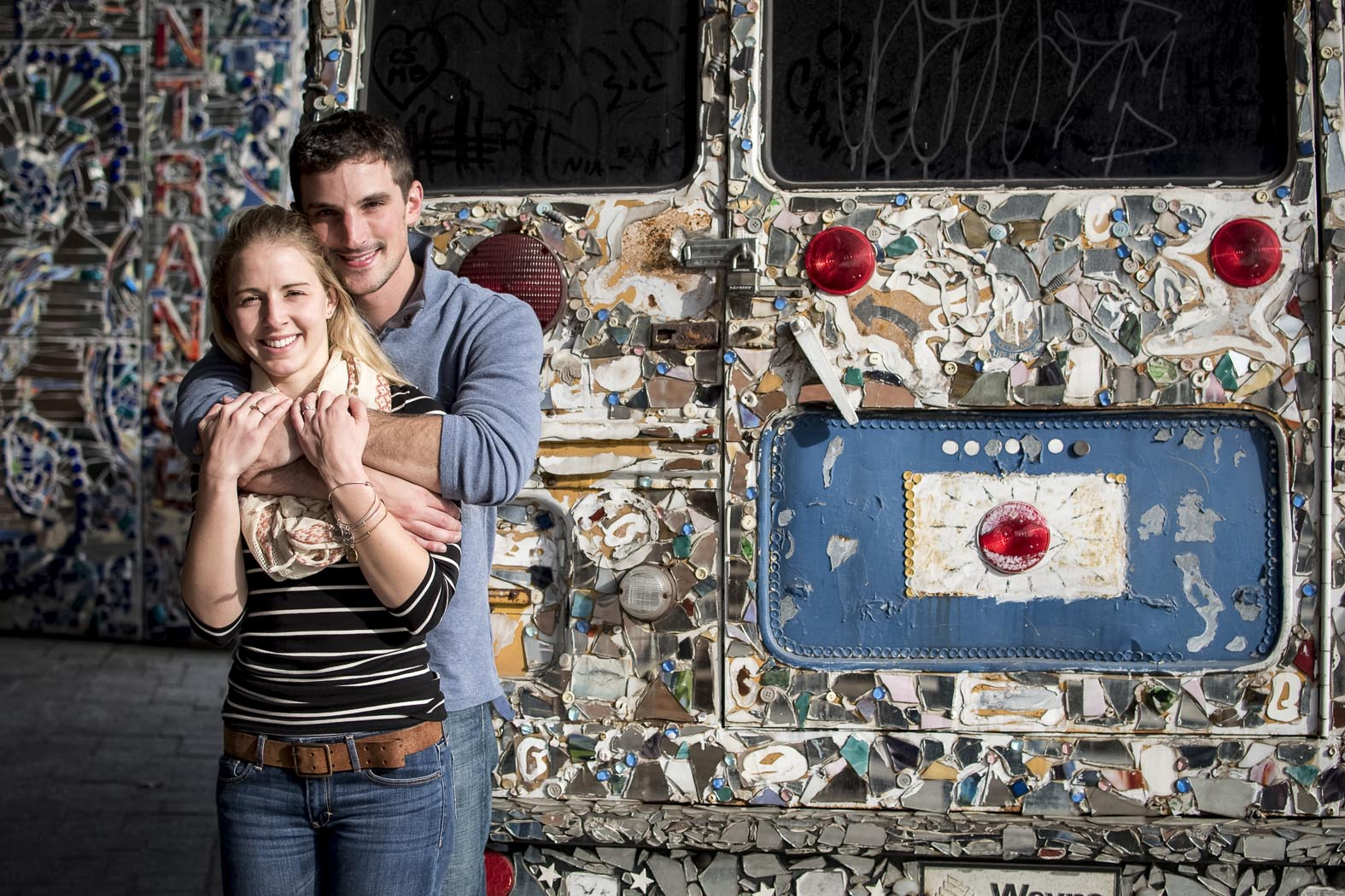 Baltimore Surprise Proposal Photography