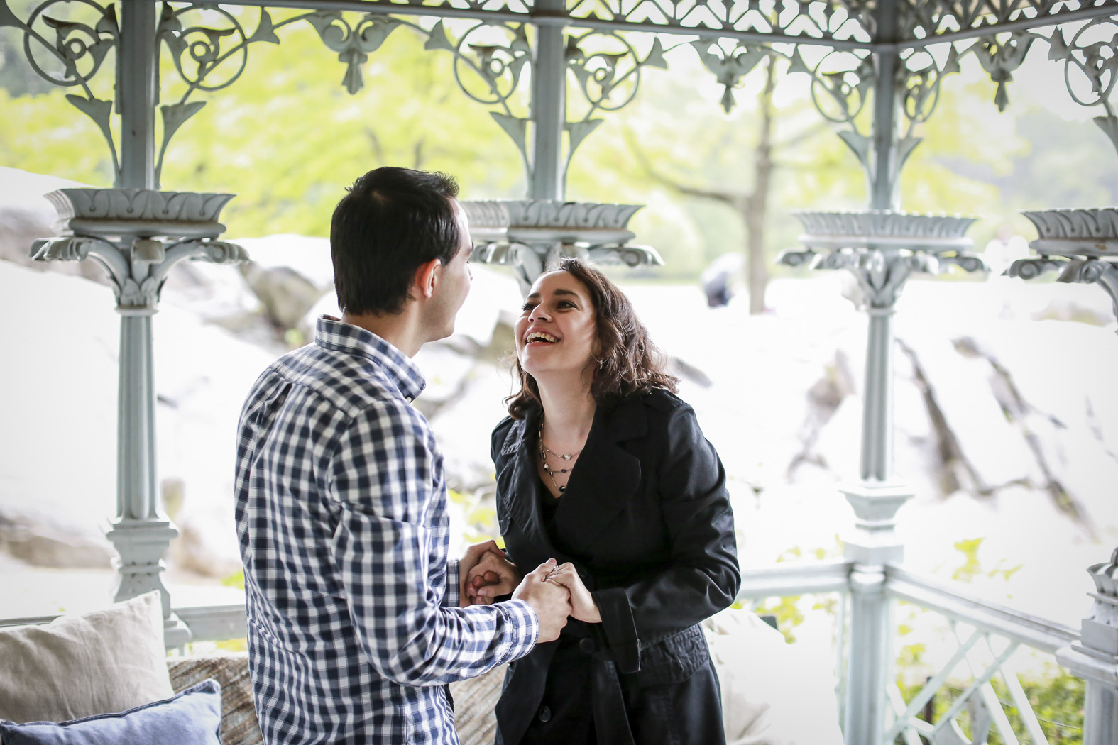 New York Proposal Photography- Omar and Eli