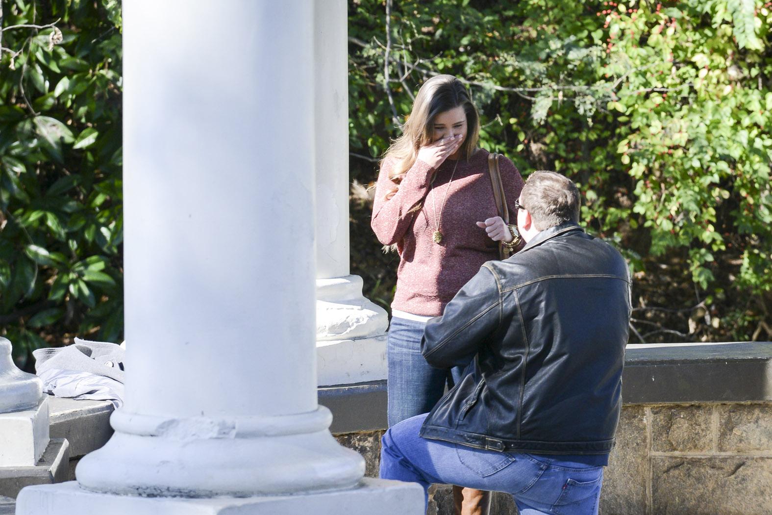 Piedmont Park Marriage Proposal