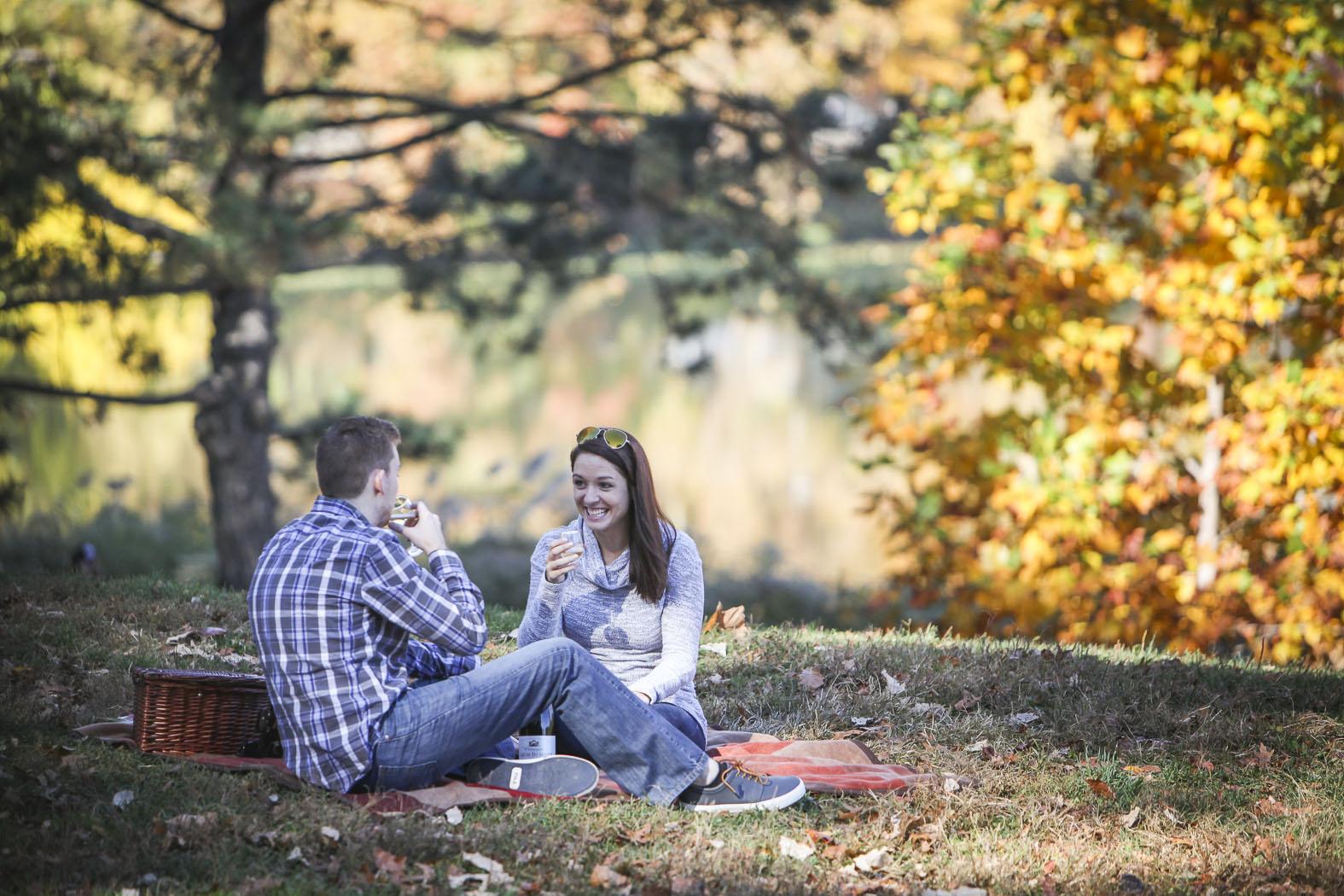 Austin Park Picnic Marriage Proposal