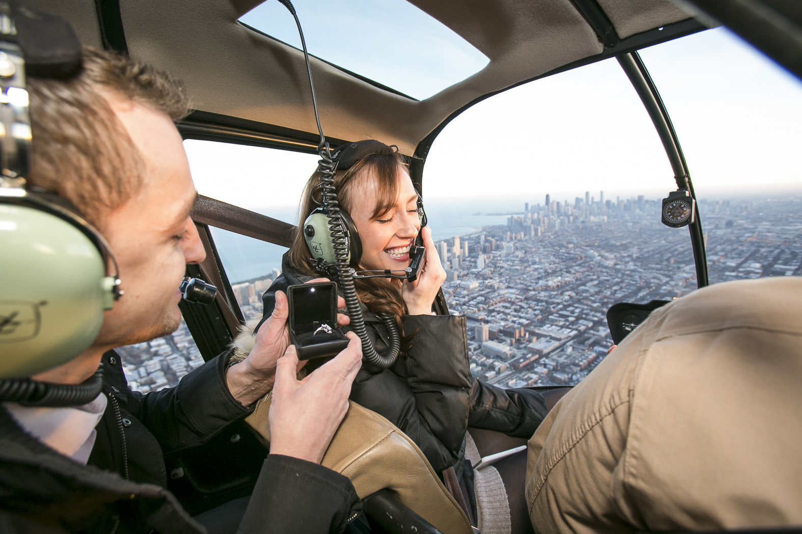 chicago helicopter tour proposal