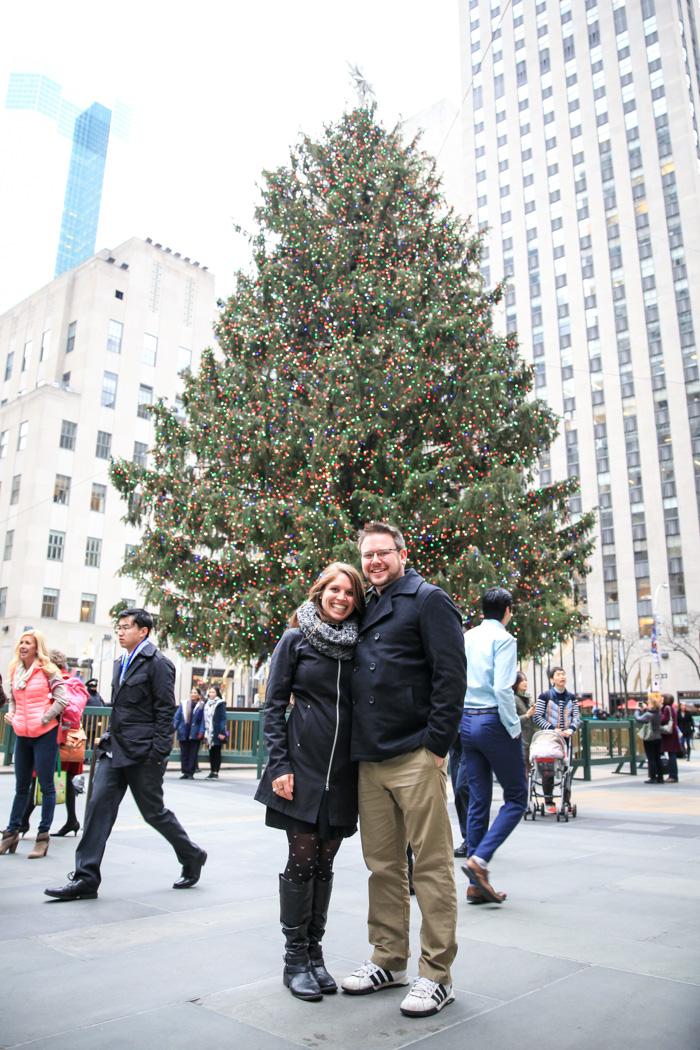 New York City Rockefeller Center Christmas Tree