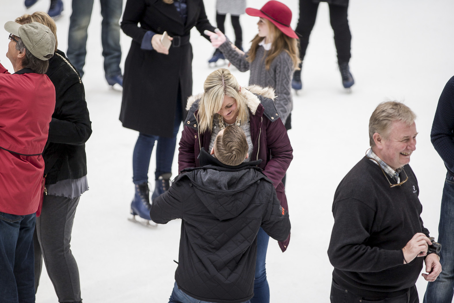 Central Park Ice Skating Proposal