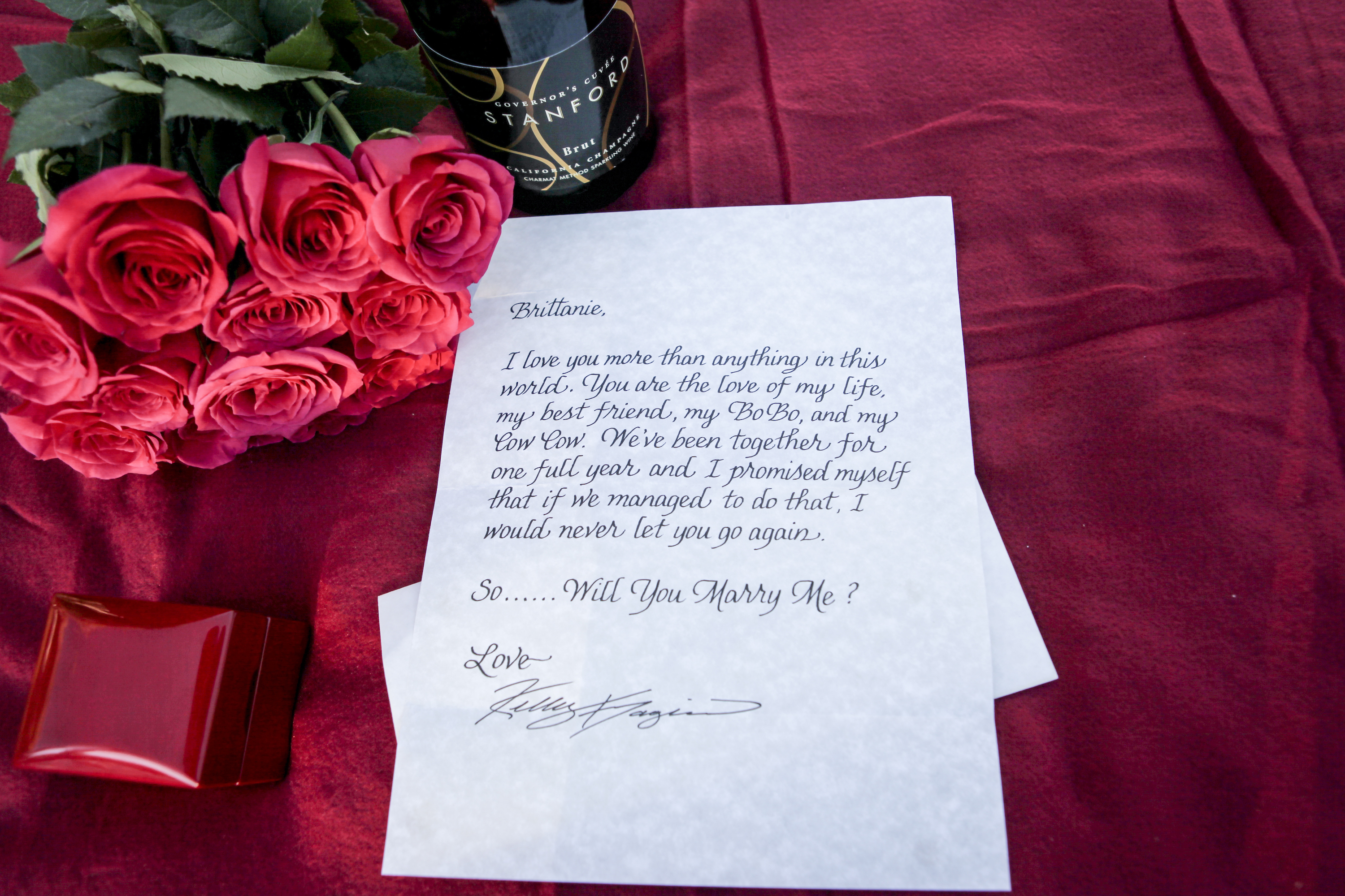 Hawaii Proposal Ideas: The Love Letter