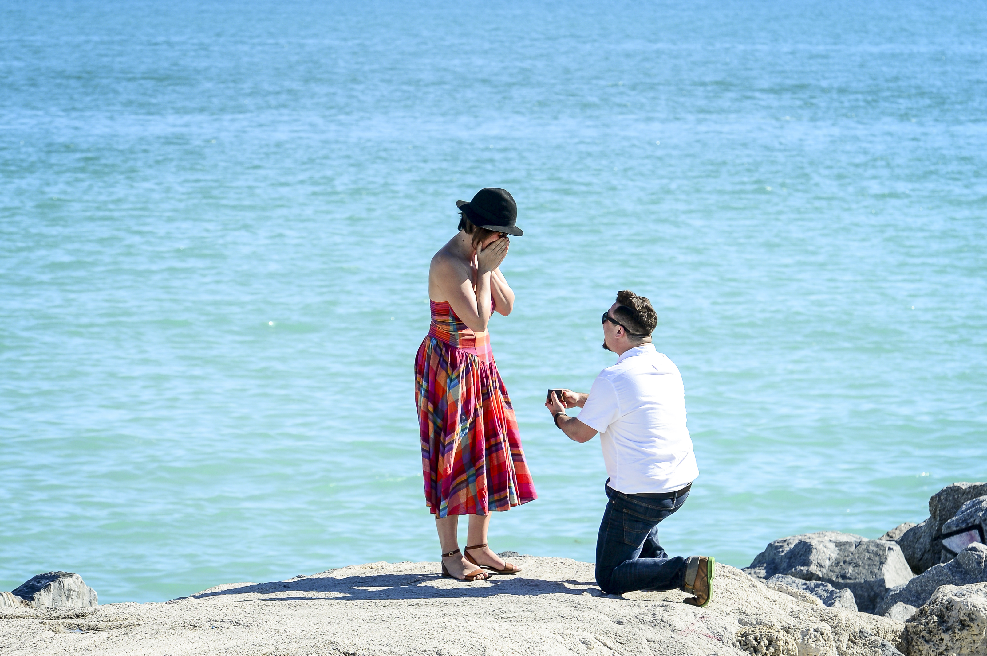 How to Propose in Miami: Keeping it Simple
