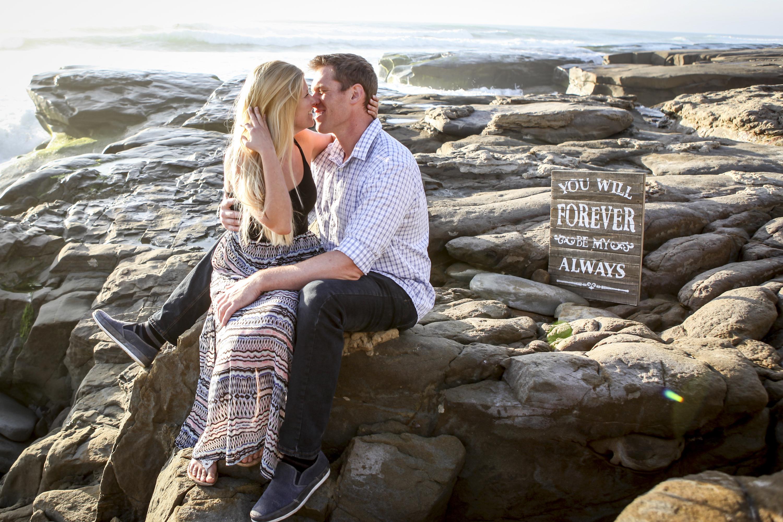 San Diego Surprise Engagement Photography Paparazzi Proposals