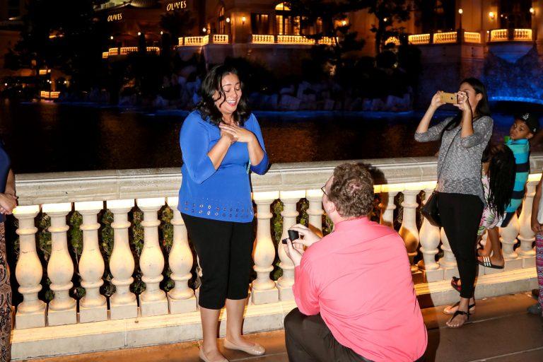 Las Vegas Proposal Ideas Paparazzi Proposals