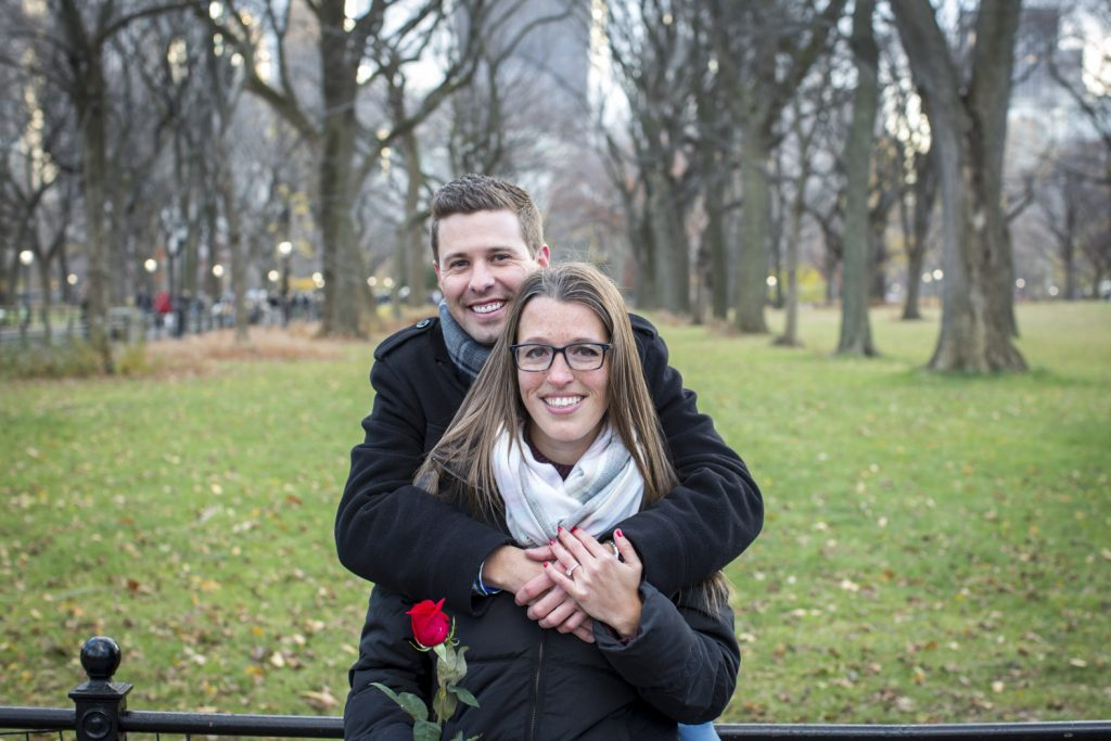 New York City Surprise Engagement Photography Brian - 18