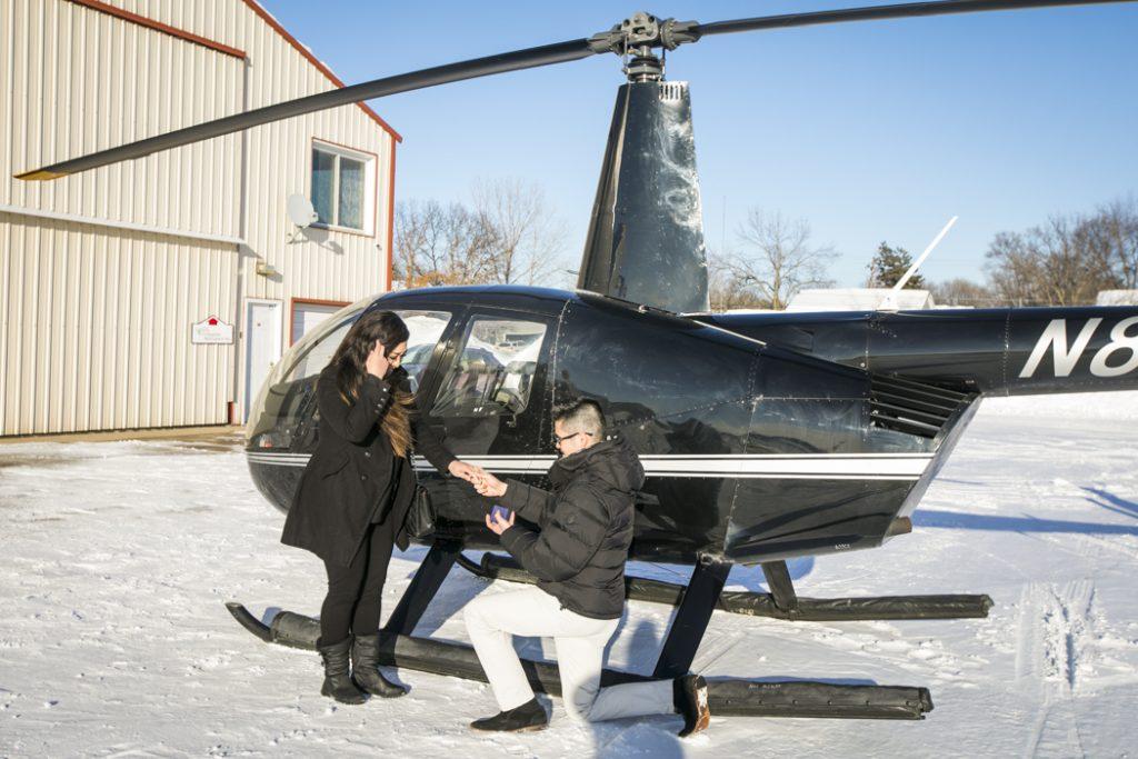 Best Minneapolis Engagement Proposal Photographer