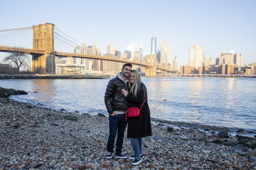 Brooklyn Bridge Engagement Proposals