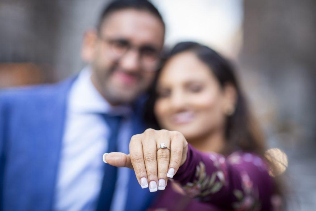 Gramercy Park engagement proposals