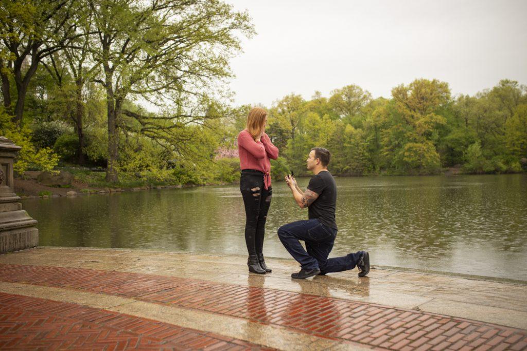 Bow Bridge Engagement Proposals