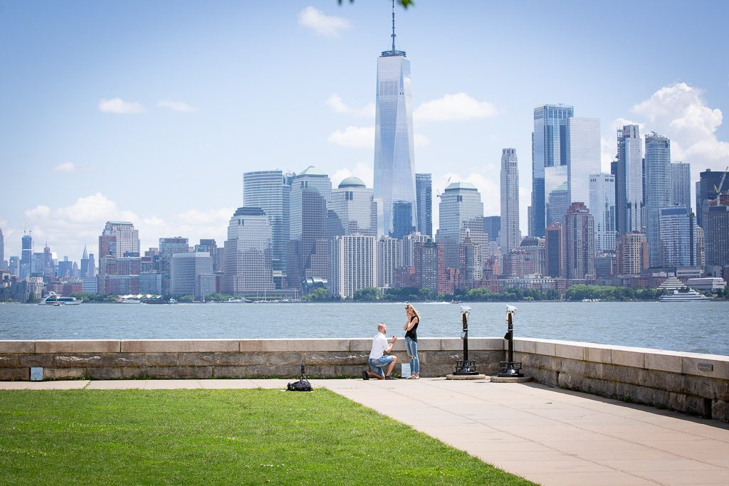 Ellis Island proposal photography