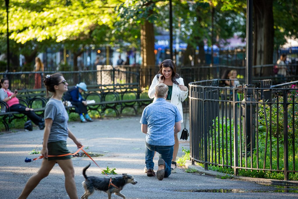 Thompson Square Park Proposal Photography