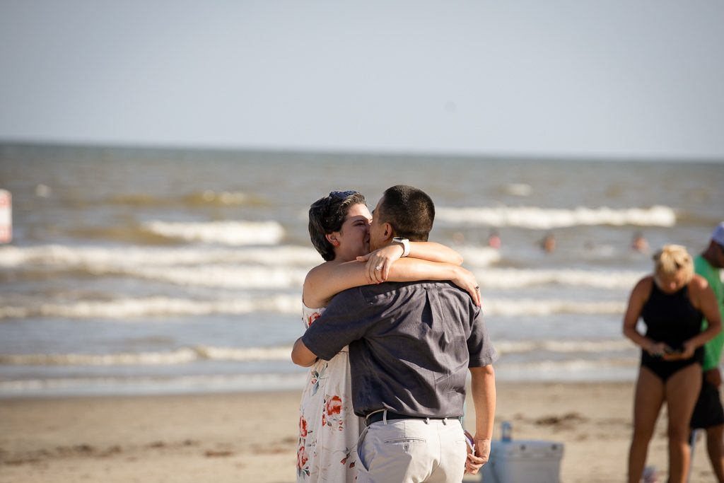 Galveston Engagement Proposal
