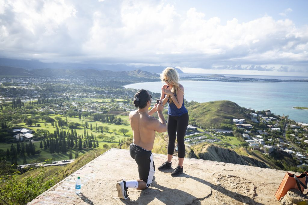 Ways to propose in Hawaii